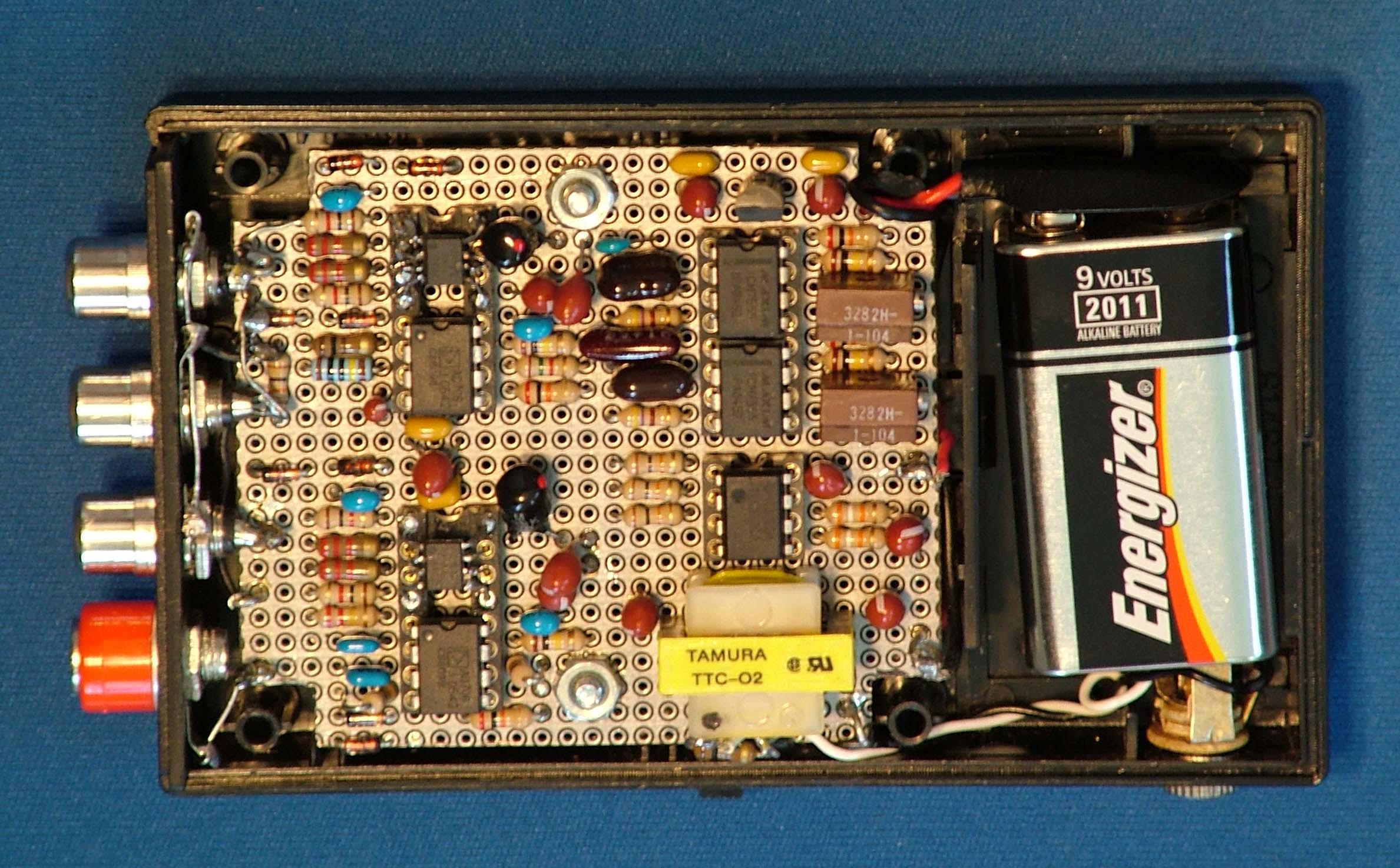 Eeg Fm Circuit Board Dual Channel Unit Internal External Revision 5 Sixteen Multiplexed Am Bread