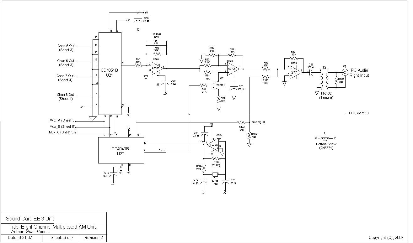 Eeg Block Diagram Of Sheet7 The Schematic