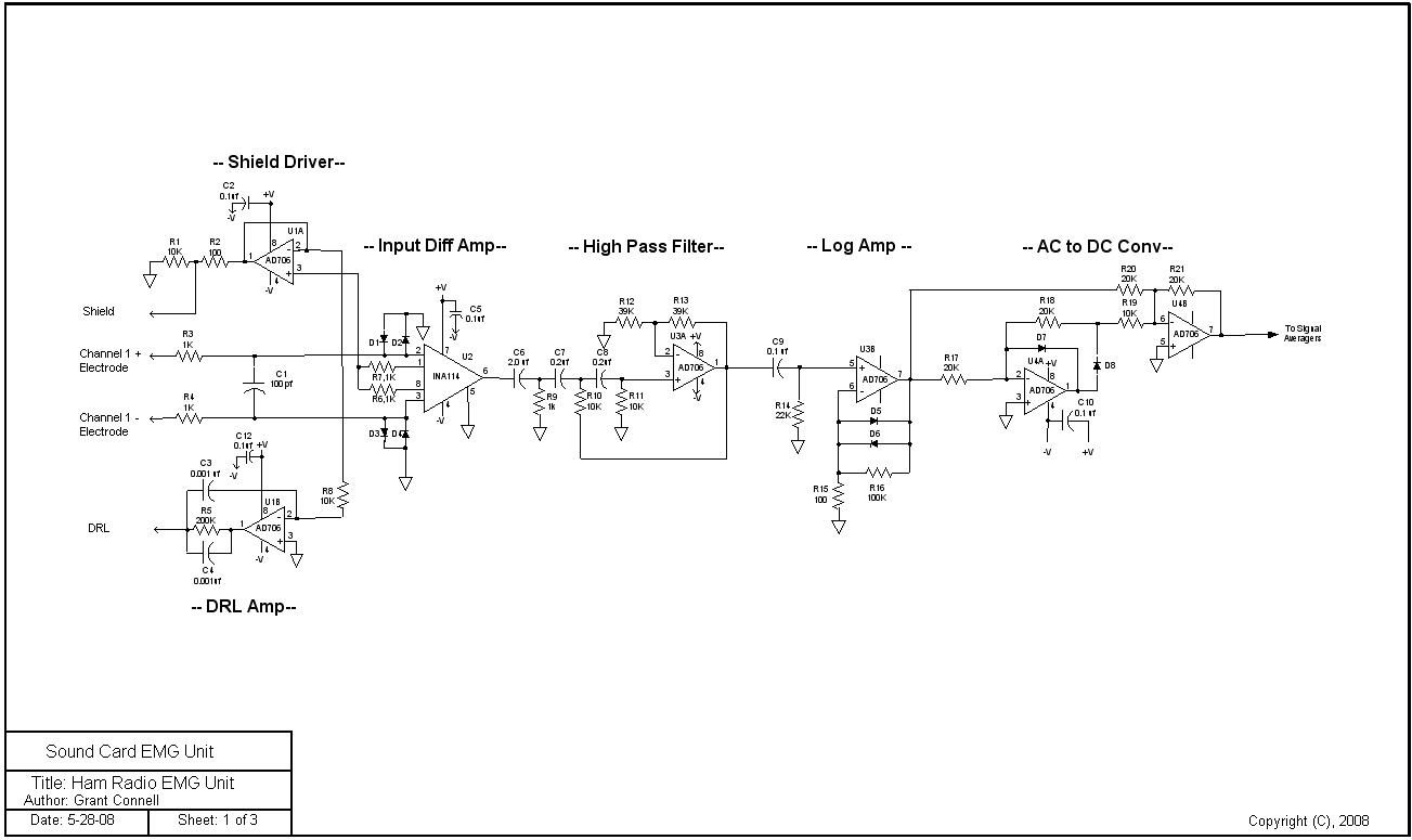 CIRCUIT FOR EEG Circuit